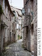 Старый город Трогир, Хорватия (2014 год). Стоковое фото, фотограф Анастасия Золотницкая / Фотобанк Лори