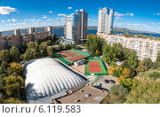 Жилой комплекс Ладья (2012 год). Редакционное фото, фотограф Сергей Тарасов / Фотобанк Лори
