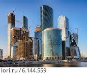Москва-Сити (2014 год). Редакционное фото, фотограф Alexnios / Фотобанк Лори