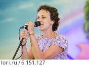 Купить «Юлия Чичерина», эксклюзивное фото № 6151127, снято 11 июля 2014 г. (c) Михаил Ворожцов / Фотобанк Лори