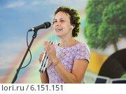 Купить «Юлия Чичерина», эксклюзивное фото № 6151151, снято 11 июля 2014 г. (c) Михаил Ворожцов / Фотобанк Лори