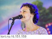 Купить «Юлия Чичерина», эксклюзивное фото № 6151159, снято 11 июля 2014 г. (c) Михаил Ворожцов / Фотобанк Лори