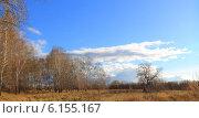 Купить «Поздняя осень под чистым небом», эксклюзивное фото № 6155167, снято 13 октября 2013 г. (c) Анатолий Матвейчук / Фотобанк Лори