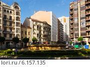 Купить «Alferez Provisional square in Logrono. La Rioja, Spain», фото № 6157135, снято 28 июня 2014 г. (c) Яков Филимонов / Фотобанк Лори
