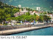 Купить «Набережная Ялты, Крым, Россия», фото № 6158847, снято 27 июня 2014 г. (c) katalinks / Фотобанк Лори