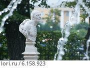 Купить «Сенека, древнеримский философ. Летний сад. Санкт-Петербург», фото № 6158923, снято 19 июля 2014 г. (c) Румянцева Наталия / Фотобанк Лори