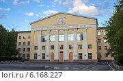 Новосибирский архитектурно-строительный институт (2014 год). Стоковое фото, фотограф Sergey Kiselev / Фотобанк Лори