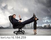 Купить «Bossy businessman», фото № 6184259, снято 4 апреля 2020 г. (c) Sergey Nivens / Фотобанк Лори