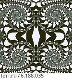 Купить «Декоративный фрактальный орнамент со спиралями», иллюстрация № 6188035 (c) Astronira / Фотобанк Лори