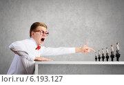 Купить «Aggressive boss», фото № 6193127, снято 4 апреля 2020 г. (c) Sergey Nivens / Фотобанк Лори