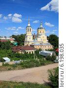 Купить «Серпухов. Церковь Ильи Пророка», эксклюзивное фото № 6198035, снято 21 июля 2014 г. (c) Яна Королёва / Фотобанк Лори