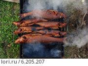 Копченый судак. Стоковое фото, фотограф Мария Бурыхина / Фотобанк Лори