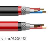 Купить «Электрический кабель», иллюстрация № 6209443 (c) Маринченко Александр / Фотобанк Лори
