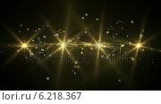 Купить «Golden abstract music design on black», видеоролик № 6218367, снято 20 июня 2019 г. (c) Wavebreak Media / Фотобанк Лори