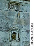 Владивосток. Форт Поспелова. Киот с иконой. Стоковое фото, фотограф Гордиенко Сергей / Фотобанк Лори