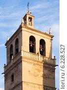 Купить «Belltower of Santa Maria de Palacio Church in Logrono», фото № 6228527, снято 28 июня 2014 г. (c) Яков Филимонов / Фотобанк Лори
