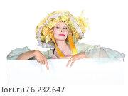 Купить «woman in lady costume», фото № 6232647, снято 13 июня 2010 г. (c) Phovoir Images / Фотобанк Лори