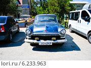 Раритетный автомобиль в Крыму (2012 год). Редакционное фото, фотограф Юлия Елисеева / Фотобанк Лори