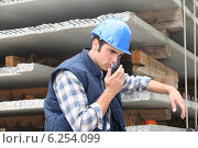 Купить «Builder», фото № 6254099, снято 29 июля 2010 г. (c) Phovoir Images / Фотобанк Лори
