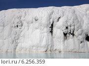 Белые скалы Памуккале. Стоковое фото, фотограф Зименков Юрий / Фотобанк Лори