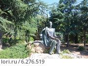 Купить «Памятник Генерал-майору М. Н. Раевскому», фото № 6276519, снято 28 июля 2014 г. (c) Галина  Горбунова / Фотобанк Лори