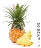 Купить «Pineapple tropical fruit or ananas», фото № 6288003, снято 7 июня 2013 г. (c) Natalja Stotika / Фотобанк Лори