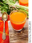 Купить «Carrot juice», фото № 6292251, снято 28 мая 2020 г. (c) BE&W Photo / Фотобанк Лори