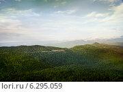 Дорога на Лагонакское нагорье. Стоковое фото, фотограф Ясевич Светлана / Фотобанк Лори