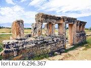 Иераполис. Памуккале. Турция (2012 год). Стоковое фото, фотограф Зименков Юрий / Фотобанк Лори