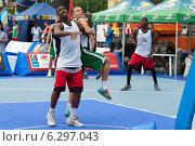 Соревнования по стритболу, Таллин, Эстония (2014 год). Редакционное фото, фотограф Aleksandr Stzhalkovski / Фотобанк Лори