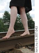 Женские ноги. Стоковое фото, фотограф Татьяна Гриб / Фотобанк Лори