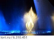 Светомузыкальный фонтан. Стоковое фото, фотограф Екатерина Романенко / Фотобанк Лори
