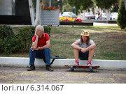 Отношения поколений (2014 год). Редакционное фото, фотограф Svetlana Zavrazhina / Фотобанк Лори
