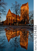 Church of the Visitation of the Blessed Virgin Mary in Warsaw. Редакционное фото, агентство BE&W Photo / Фотобанк Лори