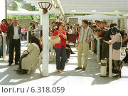Visa Section of the German Embassy in Ankara (2002 год). Редакционное фото, агентство Caro Photoagency / Фотобанк Лори