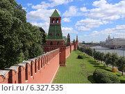 Купить «Первая Безымянная башня Московского Кремля», эксклюзивное фото № 6327535, снято 26 августа 2014 г. (c) Алексей Гусев / Фотобанк Лори