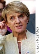 Danuta Huebner, the Polish EU-Commissioner (2004 год). Редакционное фото, агентство Caro Photoagency / Фотобанк Лори