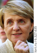 Danuta Huebner, the Polish EU-Commissioner, smiling (2004 год). Редакционное фото, агентство Caro Photoagency / Фотобанк Лори