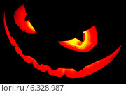 Купить «Страшное лицо тыквы на праздник Хэллоуин», фото № 6328987, снято 24 сентября 2013 г. (c) Иван Михайлов / Фотобанк Лори