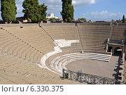 Большой амфитеатр в Помпеях, Италия (2013 год). Стоковое фото, фотограф Bohumil Prazsky / Фотобанк Лори