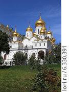 Купить «Благовещенский собор Московского Кремля», эксклюзивное фото № 6330391, снято 26 августа 2014 г. (c) Алексей Гусев / Фотобанк Лори