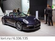Купить «Porsche 911 Targa 4S. МMAC 2014», эксклюзивное фото № 6336135, снято 29 августа 2014 г. (c) Сергей Лаврентьев / Фотобанк Лори