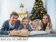 Купить «Family», фото № 6348667, снято 6 декабря 2013 г. (c) Raev Denis / Фотобанк Лори