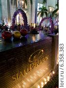 Купить «Bangkok, Thailand, the Siam Paragon shopping center at night», фото № 6358383, снято 31 декабря 2009 г. (c) Caro Photoagency / Фотобанк Лори