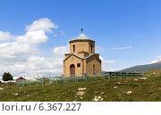 Армянская каменная церковь в селе Ашоцк. Армения, фото № 6367227, снято 5 июля 2013 г. (c) Евгений Ткачёв / Фотобанк Лори