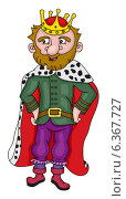 Царь. Стоковая иллюстрация, иллюстратор Надежда Хорошилова / Фотобанк Лори
