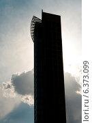 Купить «Silhouette of a tower, Chicago, Cook County, Illinois, USA», фото № 6373099, снято 17 января 2019 г. (c) Ingram Publishing / Фотобанк Лори