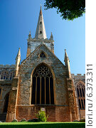 Купить «A view of Trinity Church», фото № 6373311, снято 23 июля 2019 г. (c) Ingram Publishing / Фотобанк Лори