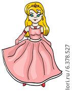 Принцесса. Стоковая иллюстрация, иллюстратор Надежда Хорошилова / Фотобанк Лори