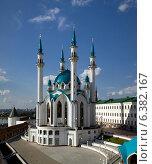 Казань, мечеть Кул-Шариф (2014 год). Стоковое фото, фотограф Тимур Кузяев / Фотобанк Лори
